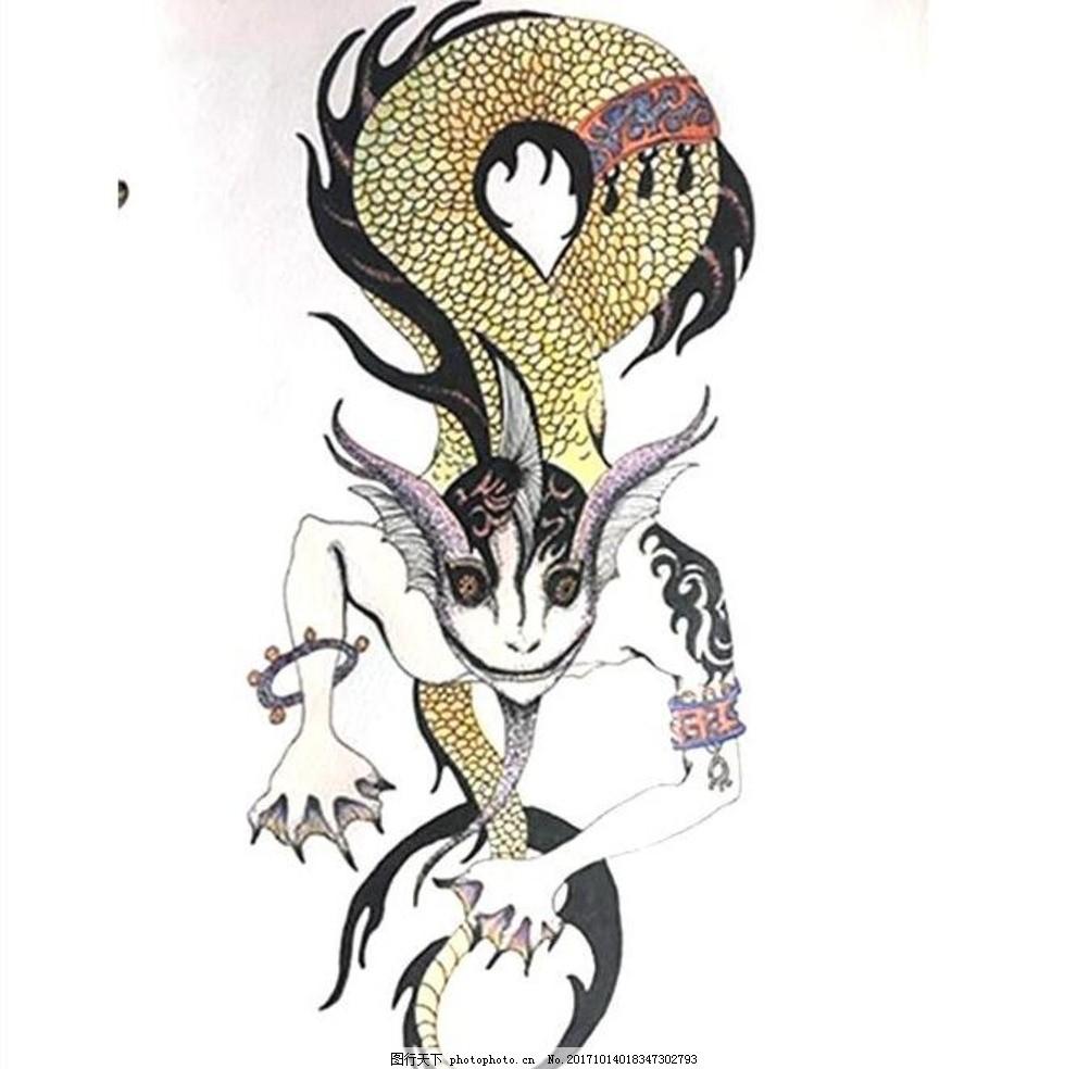 上古神兽 手绘 中国风 古代 獬豸 文化艺术 传统文化 动漫动画