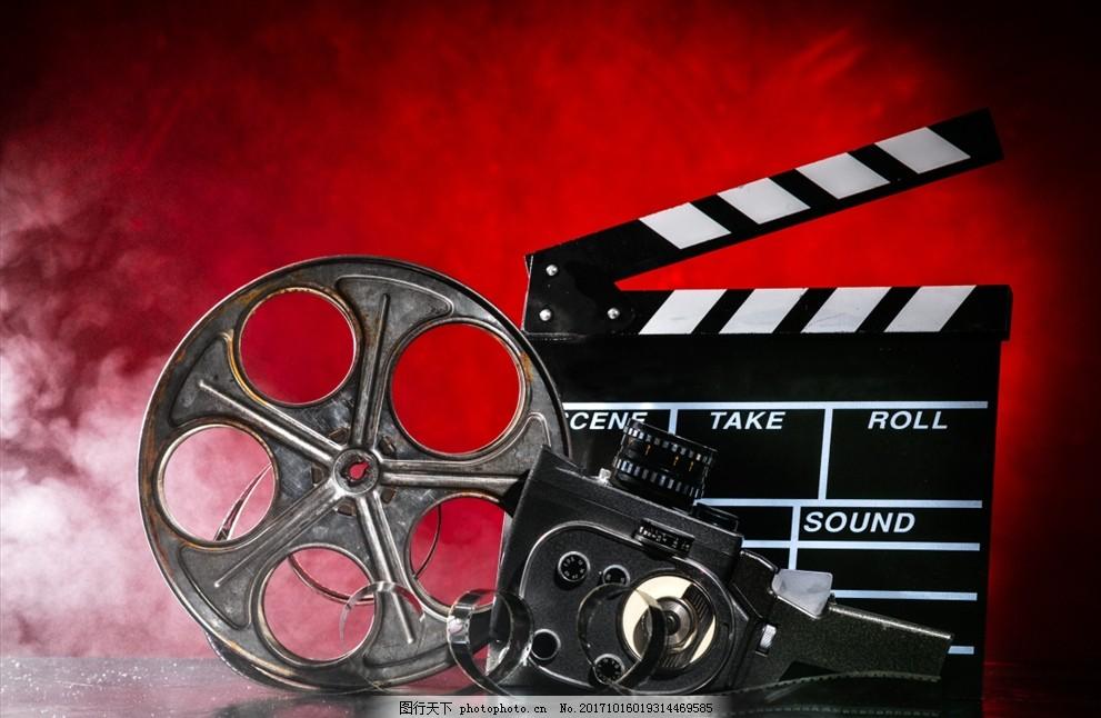 场记板 放影机 电影 免费下载 海报 复古电影海报 舞台 电影放影