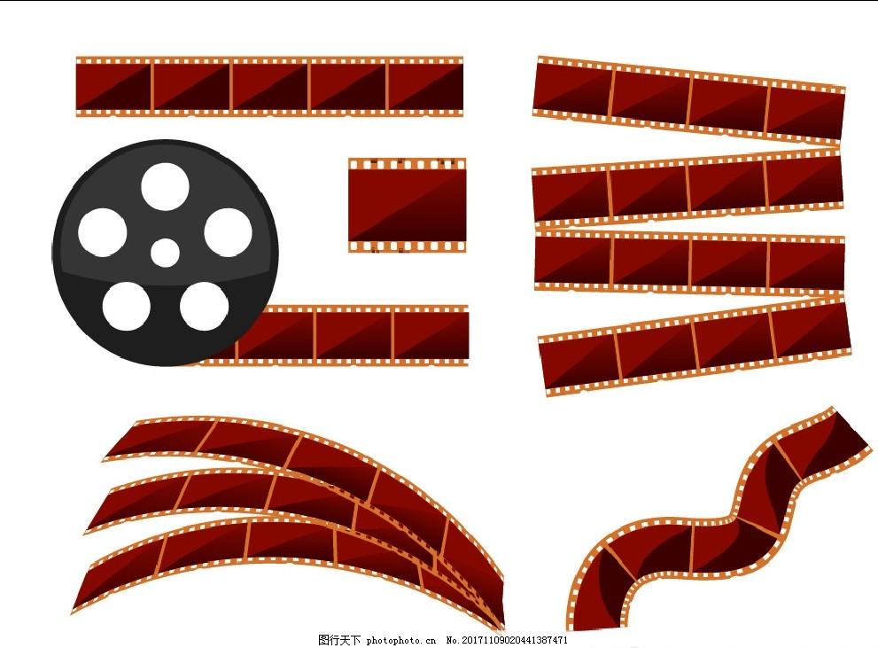 胶卷胶片 胶片风格 胶片效果 摄影素材 胶片素材 音乐 底纹边框