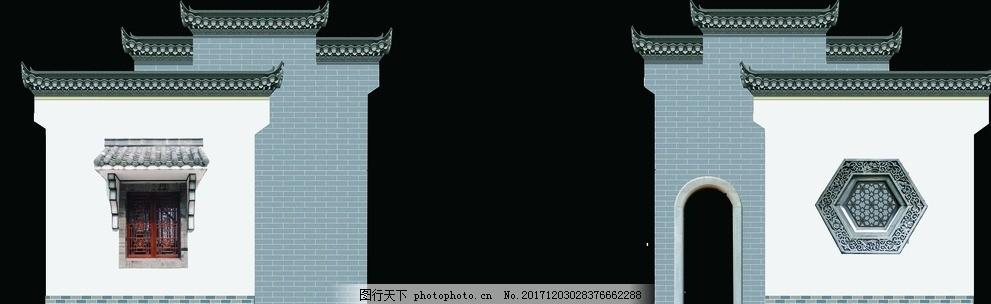 马头墙 舞台背景 舞美设计 舞台侧幕 侧屏 环境设计