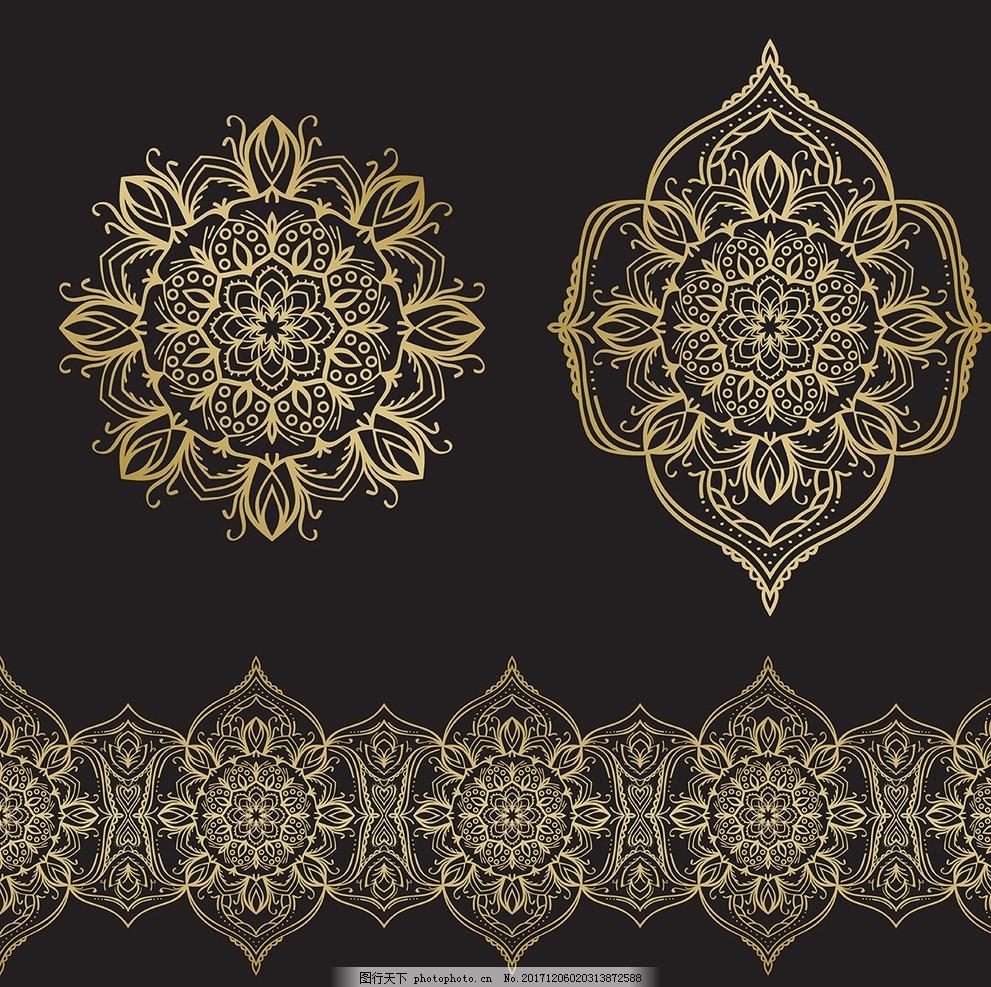 欧式花纹 欧式边框 欧式花边 欧式底纹 欧式相框 欧式花纹浮雕