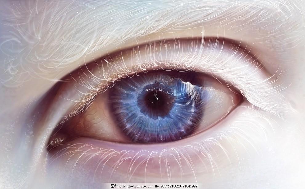 眼睛 眼神 眉毛 眼球 眼角 双眼皮 单眼皮 晶状体 瞳孔 摄影