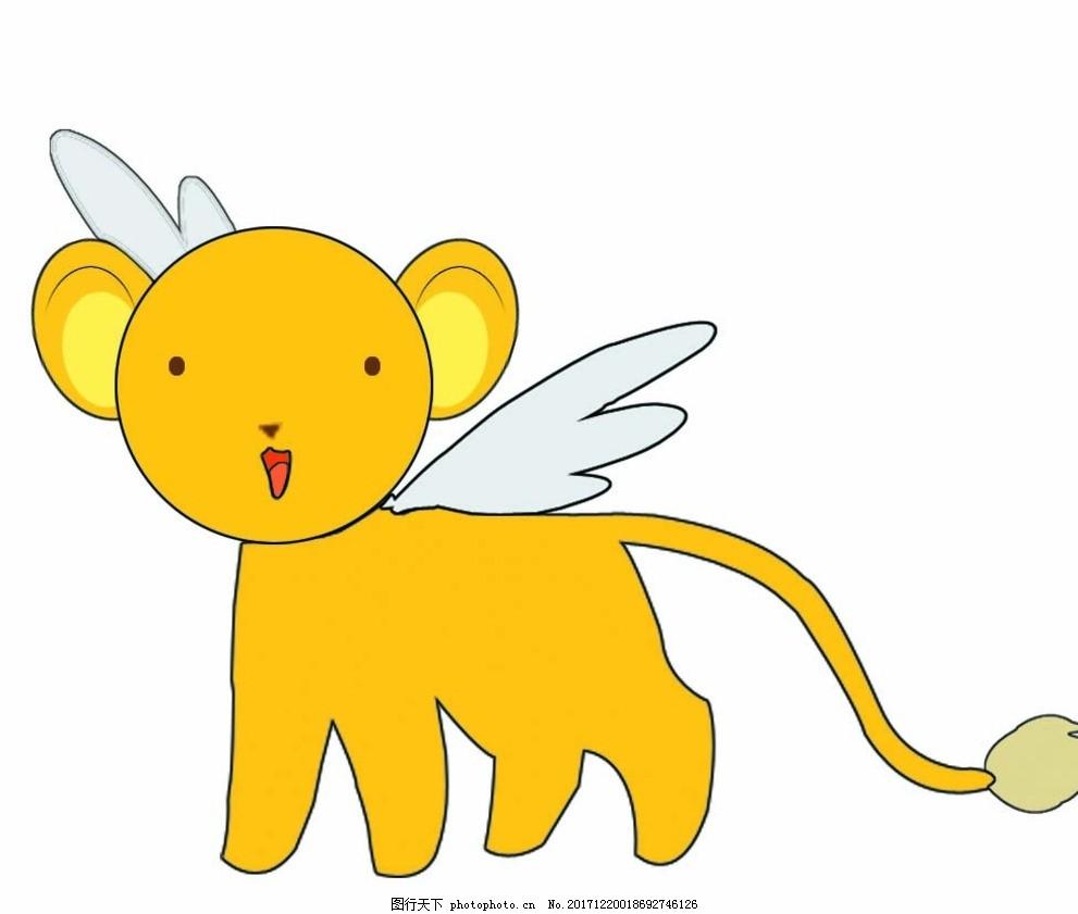 小可 可爱 会飞 简笔 动漫 动物 动漫动画